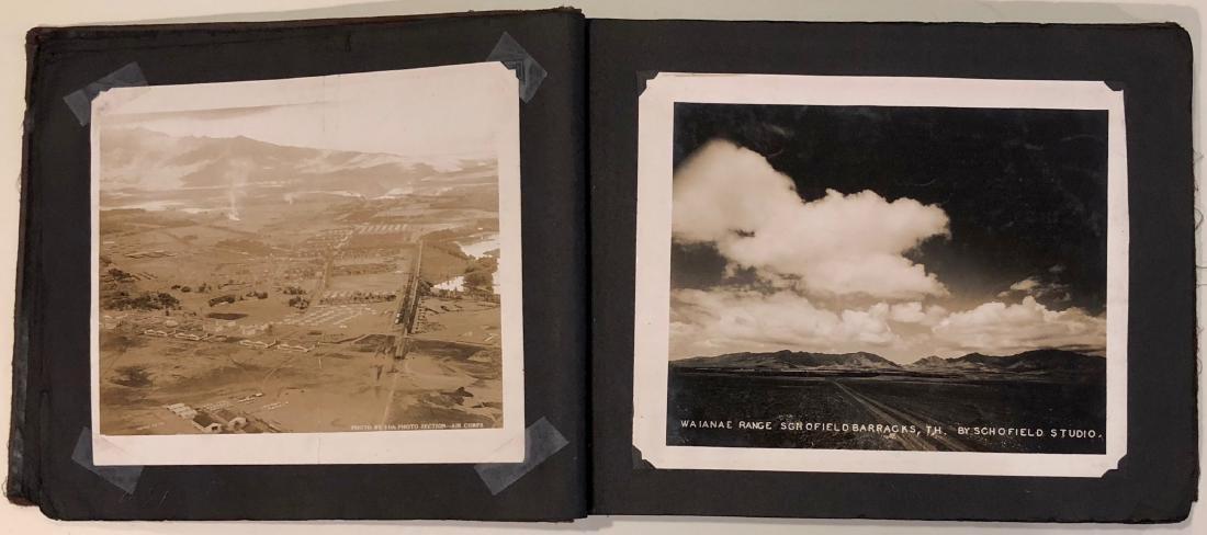 American Military Photograph & Postcard Album (240+) - 8