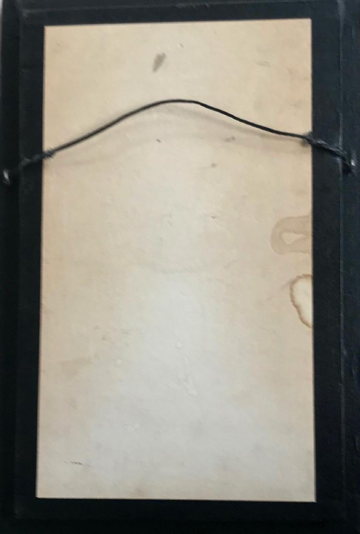 Antique Japanese Bone Forks Within Custom Case - 3