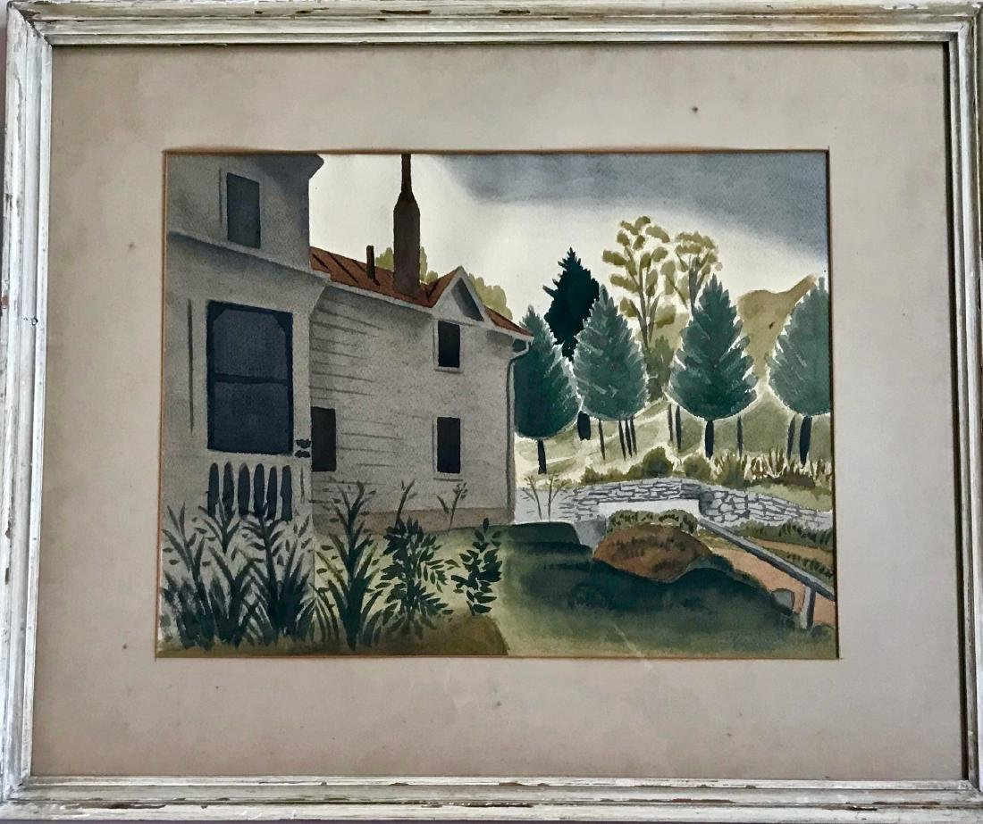New England Landscape Painting, Young 1938
