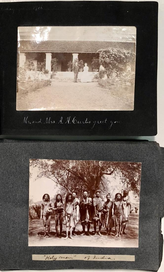 Missionary Photograph Albums COLONIAL INDIA 1906 (116) - 9