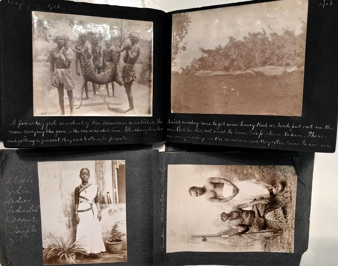 Missionary Photograph Albums COLONIAL INDIA 1906 (116)