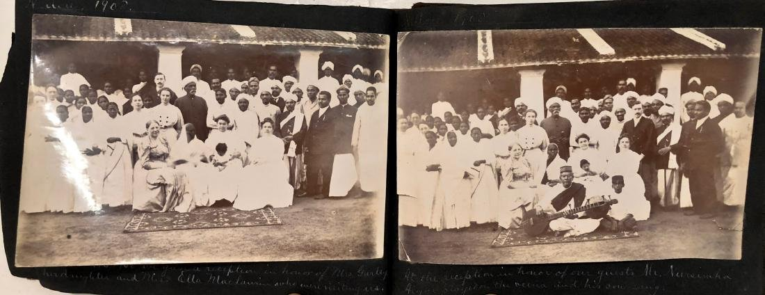 Missionary Photograph Albums COLONIAL INDIA 1906 (116) - 3