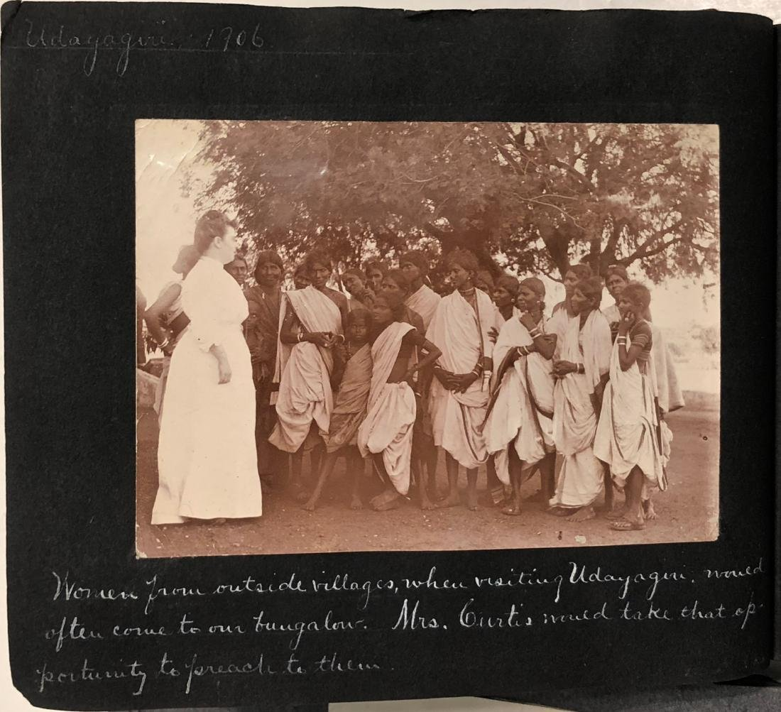 Missionary Photograph Albums COLONIAL INDIA 1906 (116) - 4