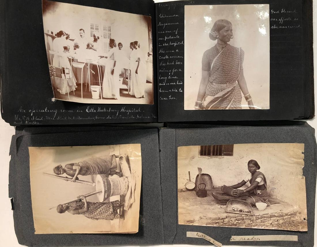 Missionary Photograph Albums COLONIAL INDIA 1906 (116) - 5