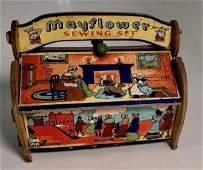 Mayflower Sewing Kit GROPPER & SONS Circa 1914