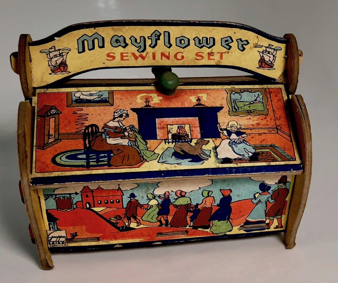 Mayflower Sewing Kit GROPPER & SONS  Circa 1914