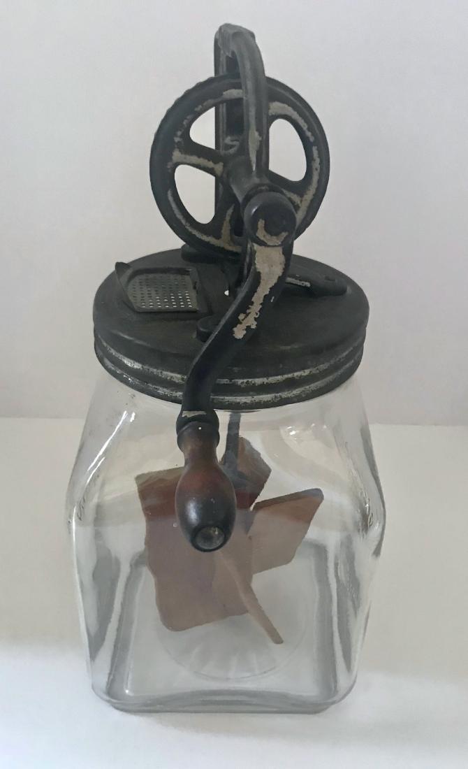 Vintage Dazey 1922 Patent Dated Butter Churn #40 - 4