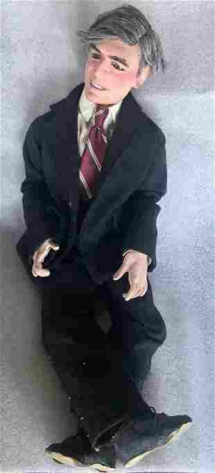 Ron Kron Vintage Character Doll Michael Dukakis 1986