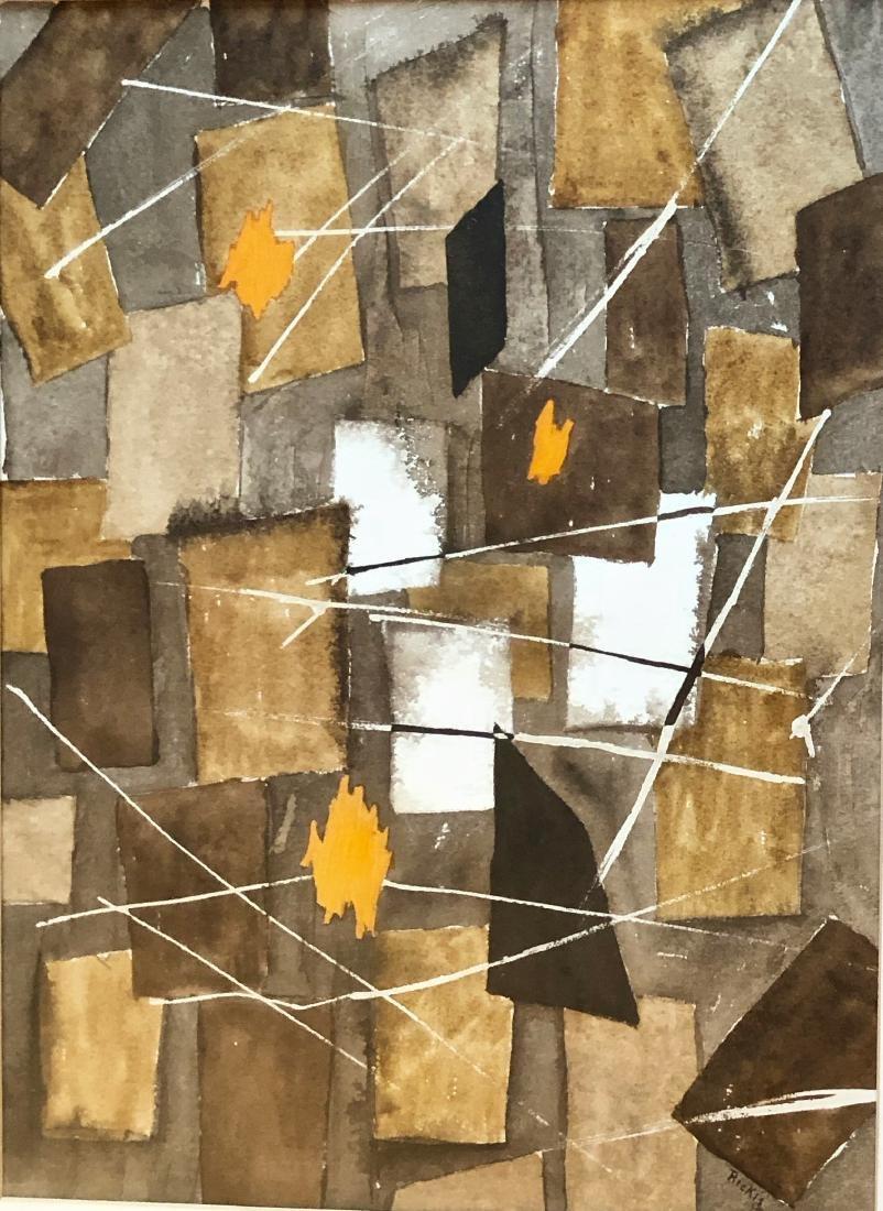 American Abstract Painting Thomas Rickis 1973 - 3