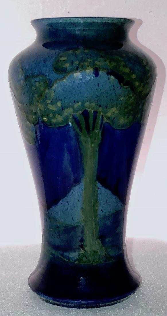 Moonlit Blue Landscape Moorcroft Vase