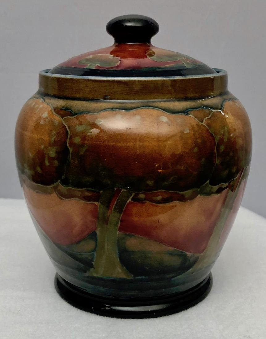 Moorcroft Eventide Landscape Lidded Biscuit Barrel