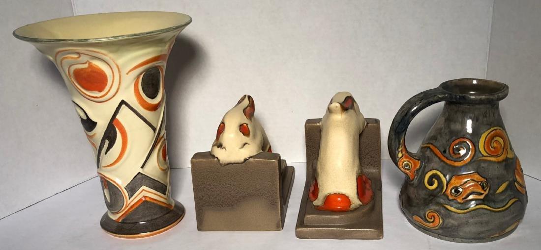Velsen Holland Dutch Art Pottery 1930s (3) - 2