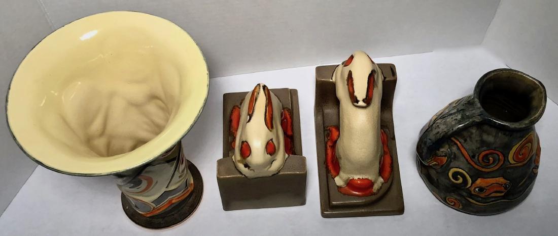Velsen Holland Dutch Art Pottery 1930s (3) - 3