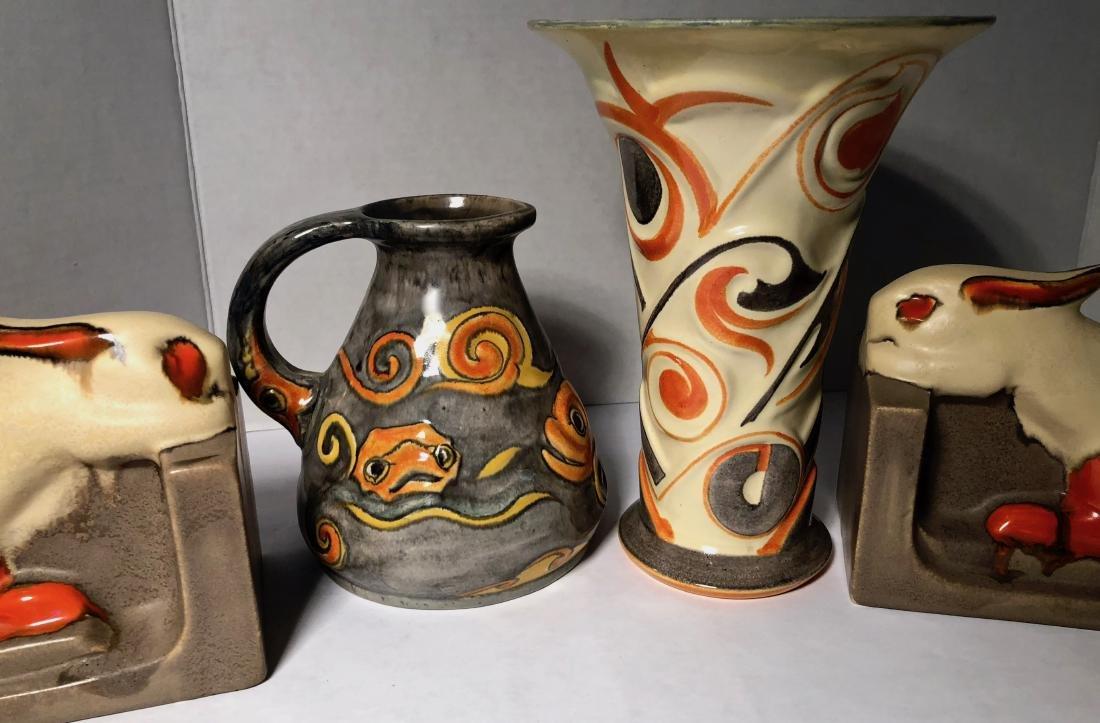 Velsen Holland Dutch Art Pottery 1930s (3) - 4