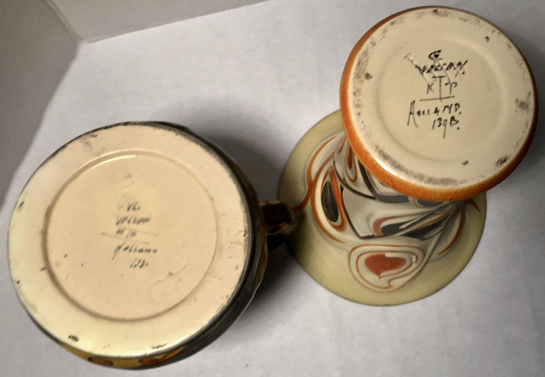 Velsen Holland Dutch Art Pottery 1930s (3) - 6
