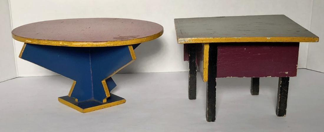 ADO Dutch Two Tables Furniture, Ko Verzuu Design, 1929