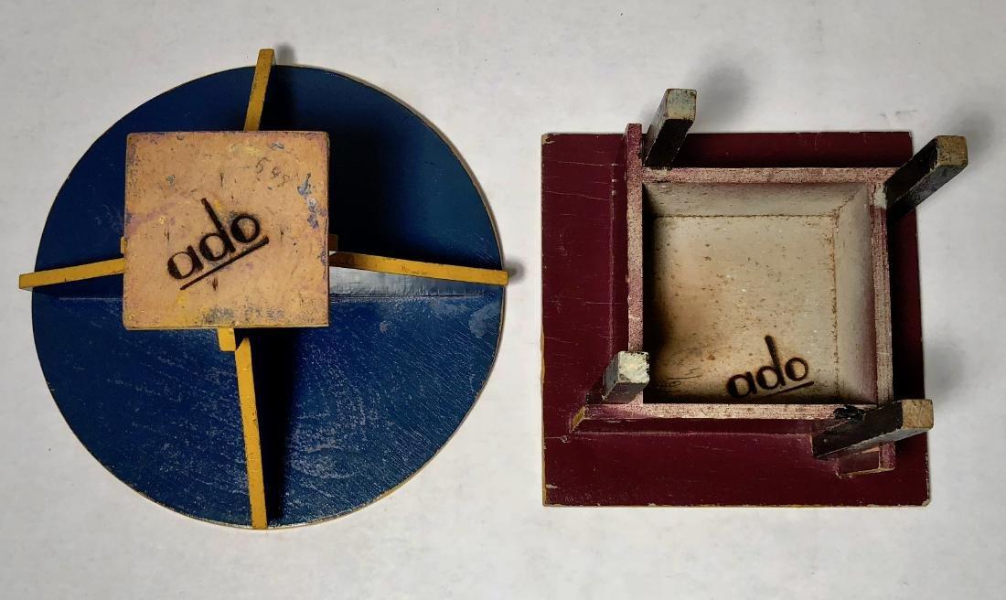 ADO Dutch Two Tables Furniture, Ko Verzuu Design, 1929 - 2