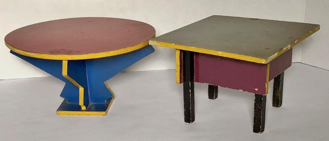 ADO Dutch Two Tables Furniture, Ko Verzuu Design, 1929 - 3