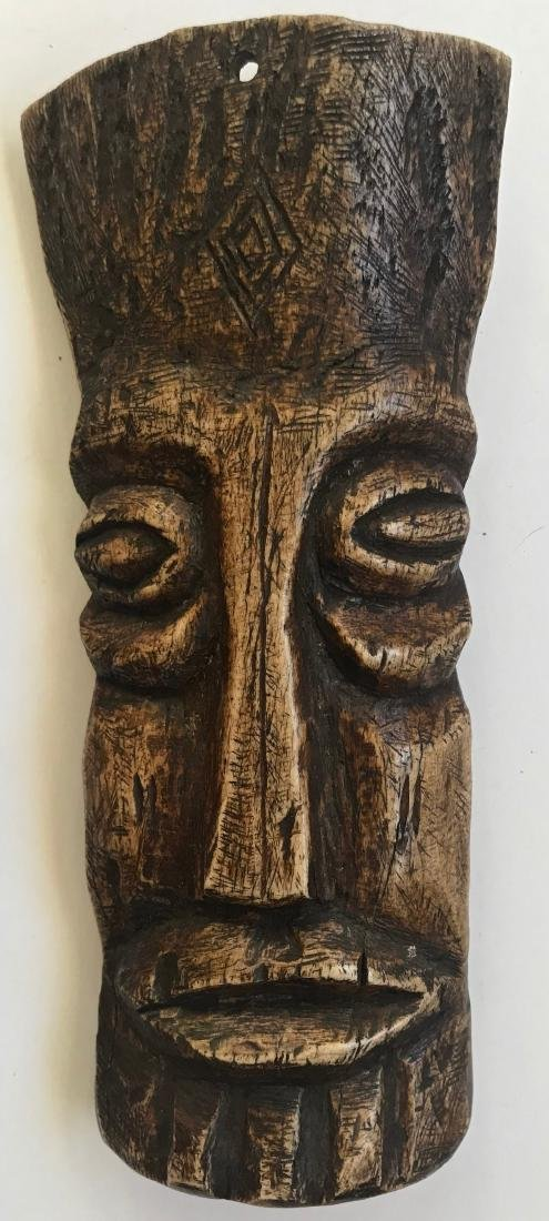 African Carved Lega Bone Ancestral Fetishes (2) - 2