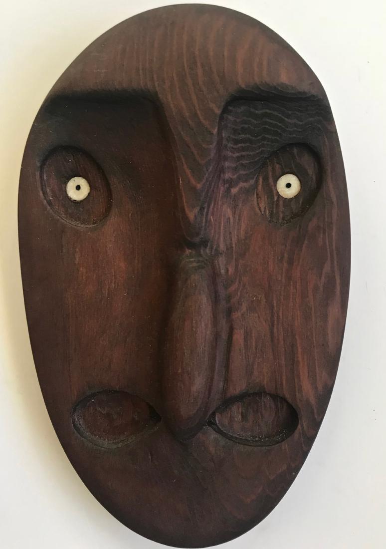 Peter Lind Jr. Northwest Coast Mask