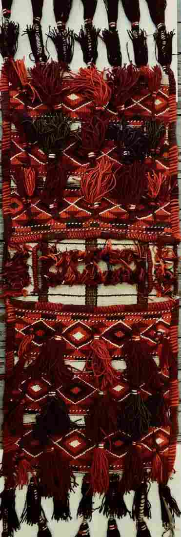 Moroccan Hand-Woven Tribal Nomadic Saddle Bag
