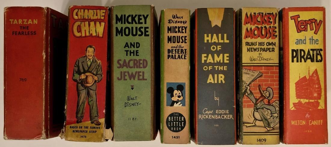Big Little Books TARZAN Mickey Mouse WALT DISNEY