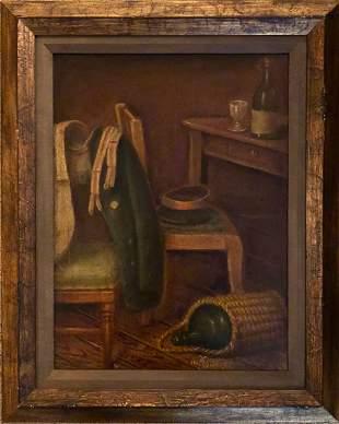 Israeli Artist Benish Mininberg Oil Painting