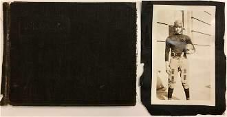 American Football Photograph Album 1930s