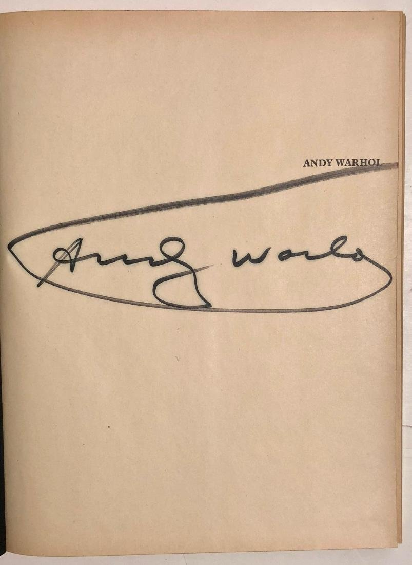 Andy Warhol: Crone Rainer Hand-Signed Book 1970 - 2