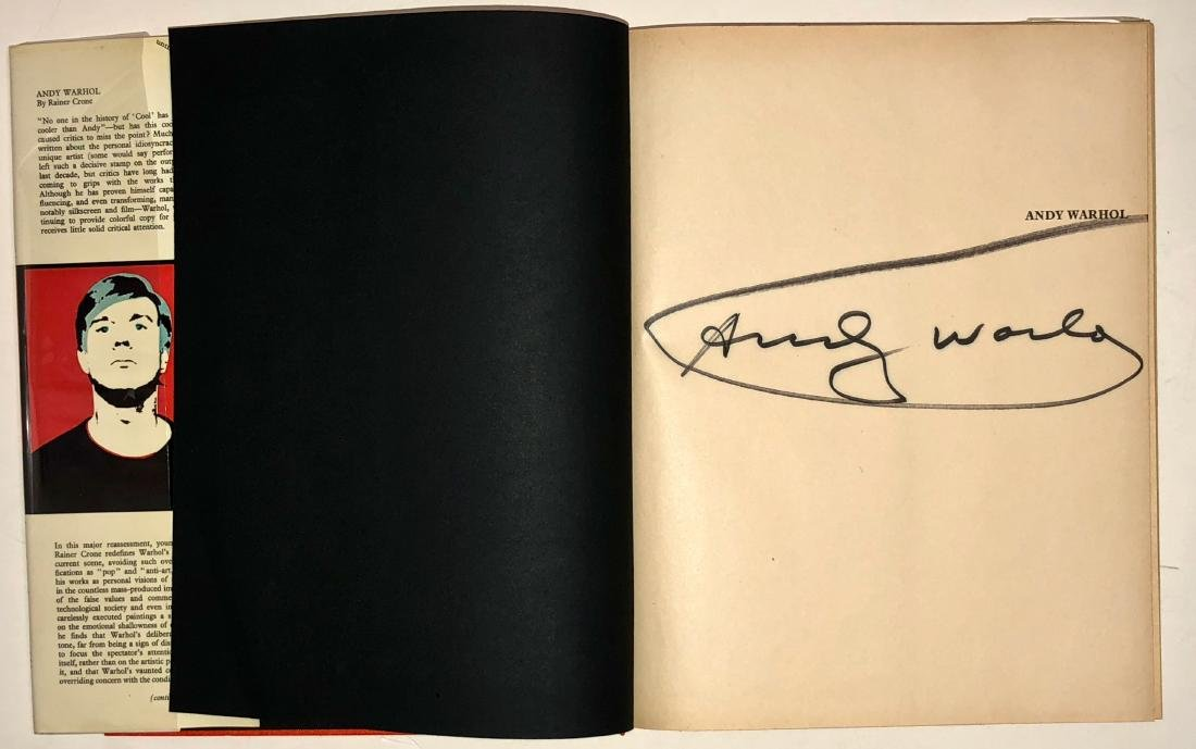 Andy Warhol: Crone Rainer Hand-Signed Book 1970 - 3