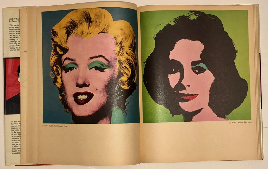 Andy Warhol: Crone Rainer Hand-Signed Book 1970 - 5
