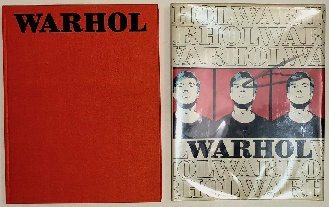 Andy Warhol: Crone Rainer Hand-Signed Book 1970 - 8