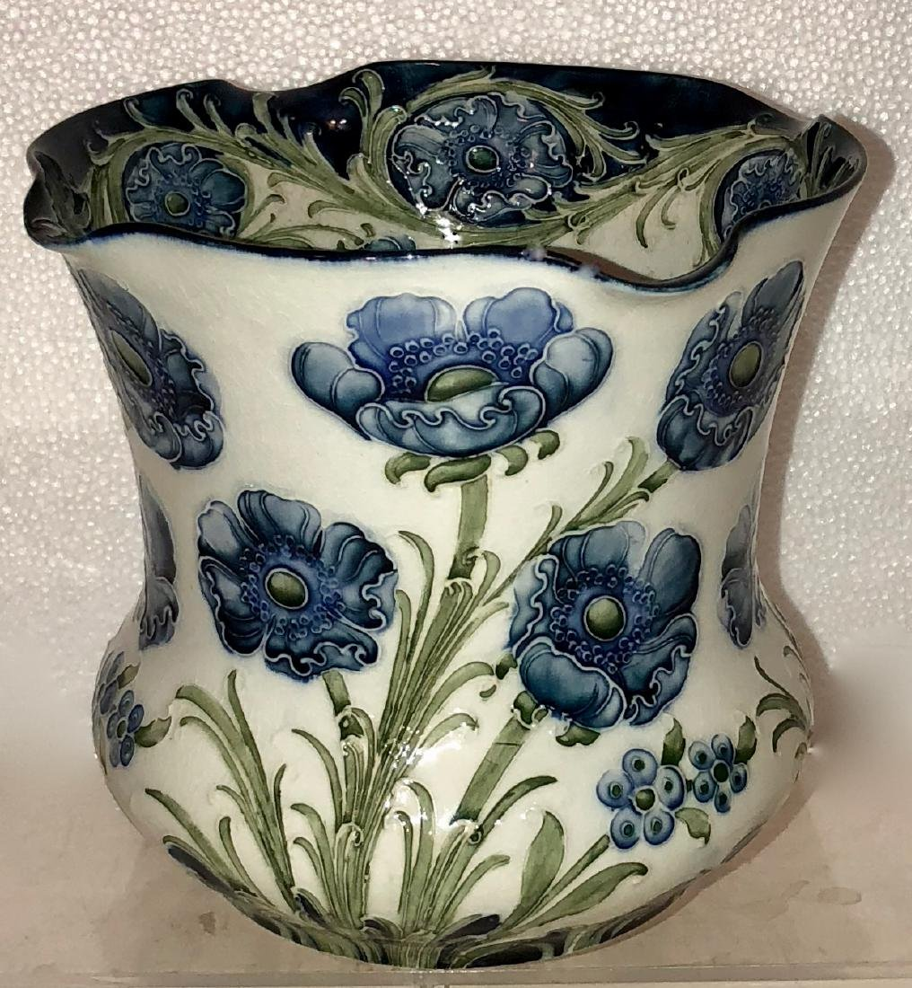 Moorcroft Macintyre Florian Ware Poppy Vase - 2