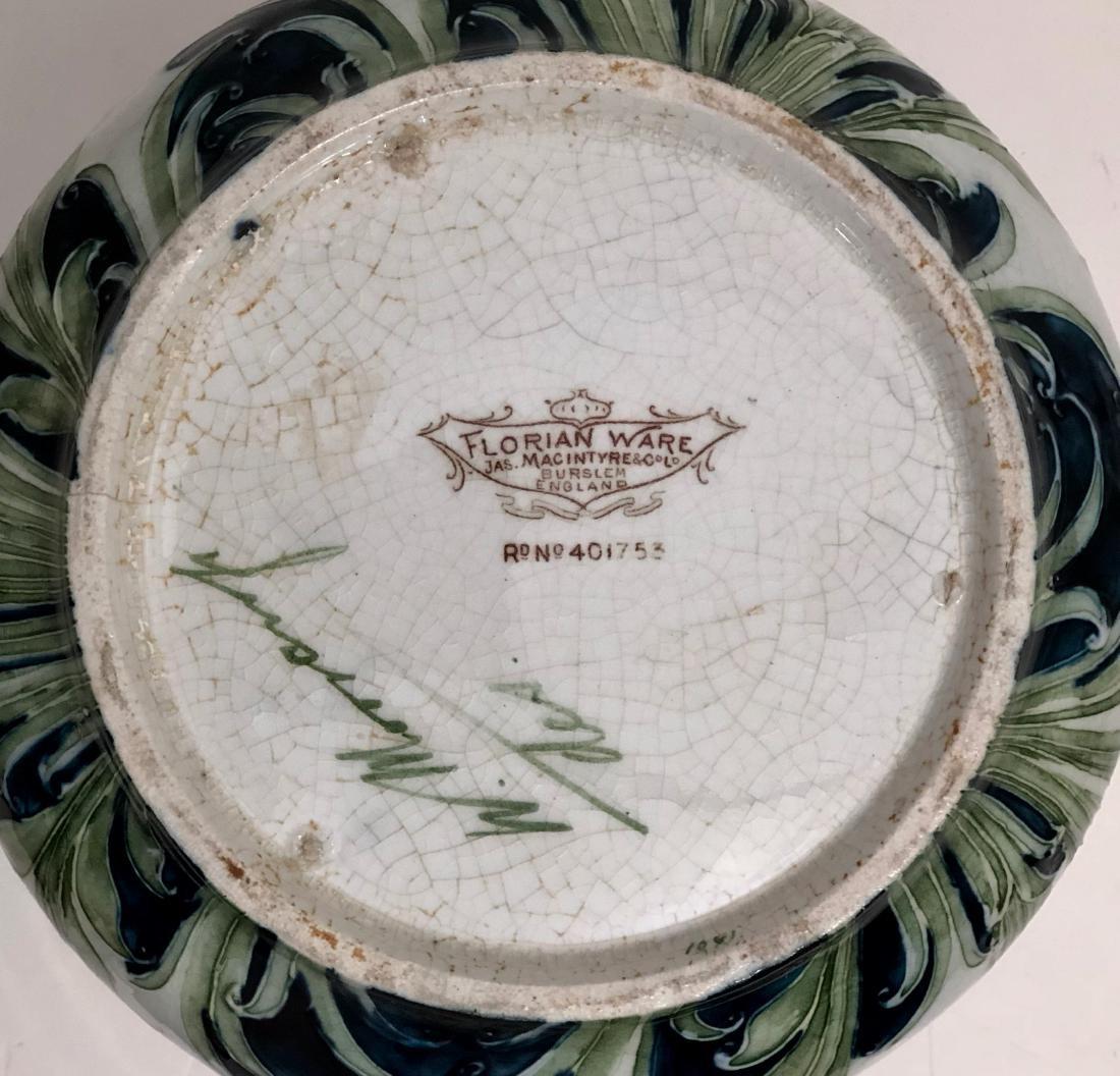 Moorcroft Macintyre Florian Ware Poppy Vase - 4