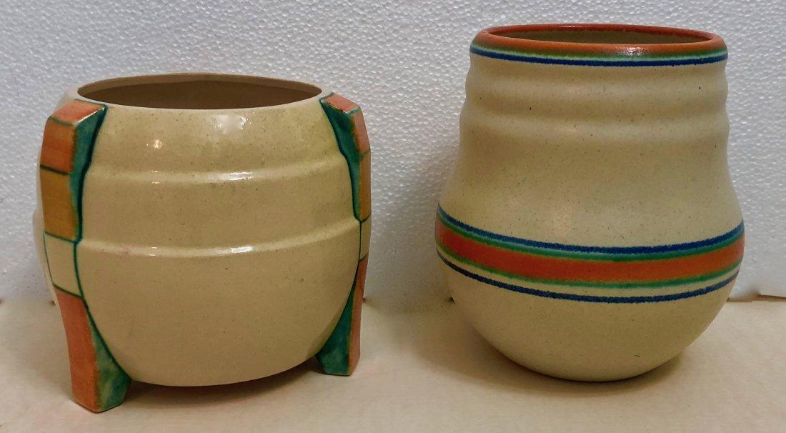 Velsen & De Zwing Noordwijk Earthenware Vases (2)
