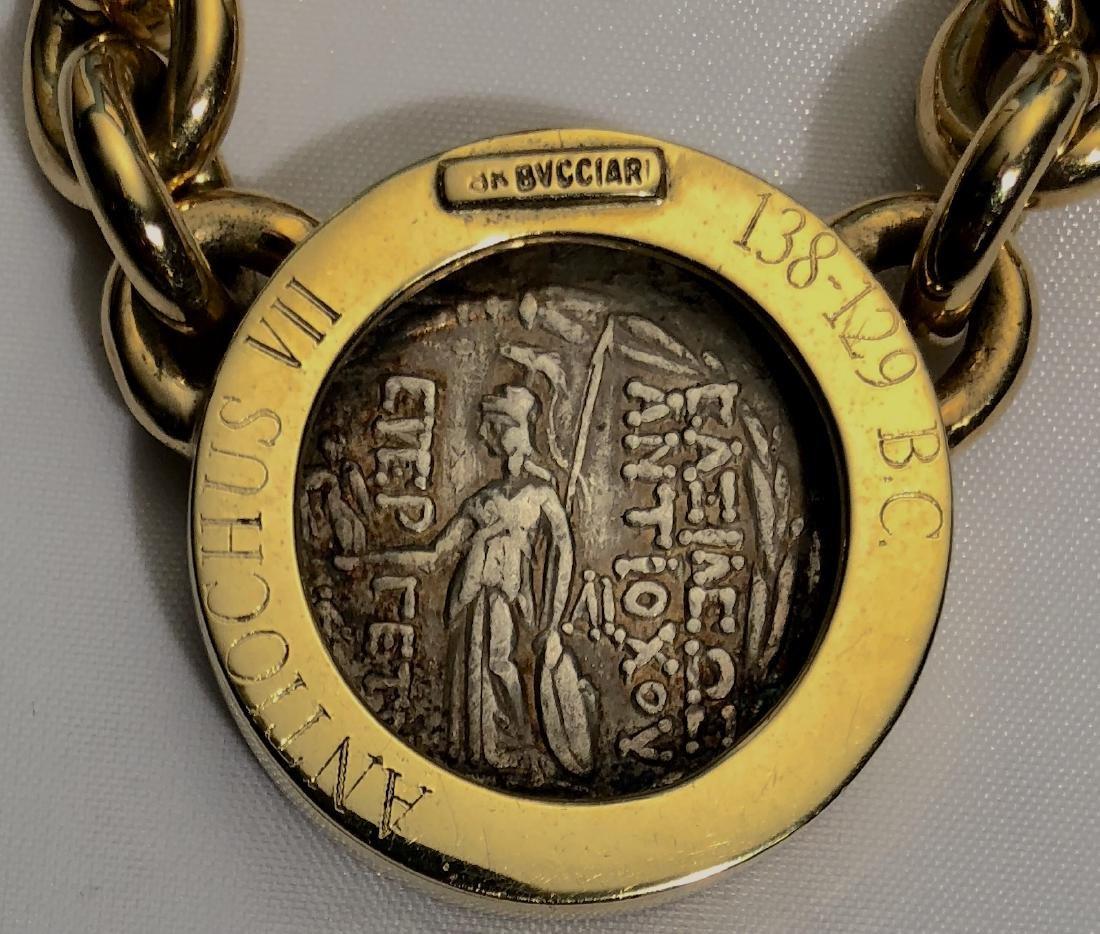 Bucciari 18k Ancient Coin Chain Link Necklace - 3