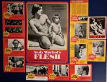 Andy Warhol Underground Cinema Poster FLESH 1968