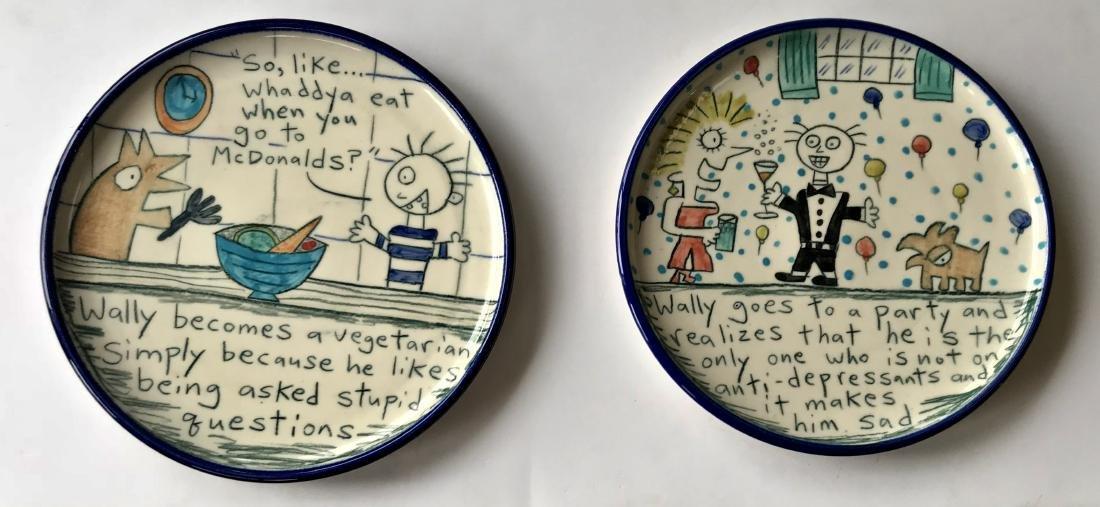 Tom Edwards WALLYWARE Folk Art Pottery
