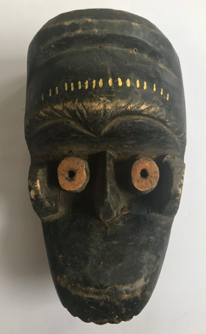 Zoomorphic Carved Festival Tribal Mask, Africa