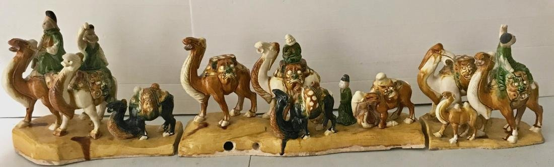 Tang Tri-Colored China's Silk Road Pottery Caravan