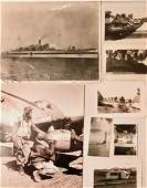 WW2 Military Photographs SHIPS OUTPOSTS SOLDIERS 100