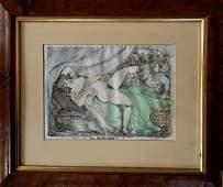 Thomas Rowlandson Erotic Etchings w Aquatint 4