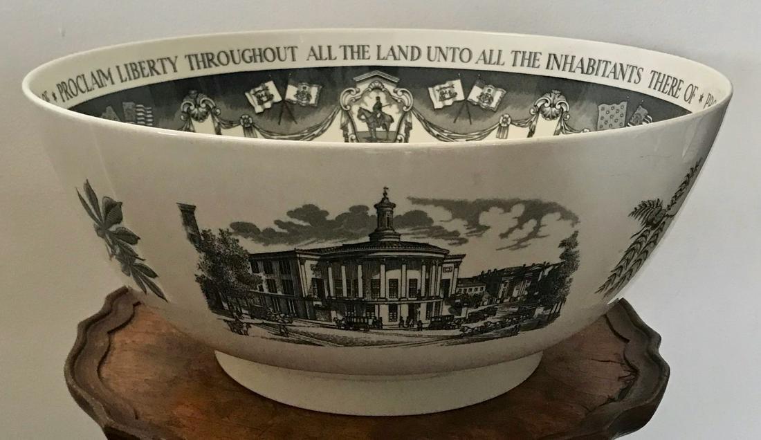 Wedgwood Bailey Banks & Biddle Philadelphia Bowl