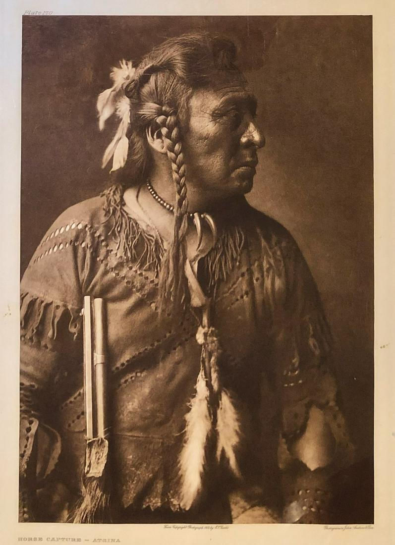 EDWARD S. CURTIS Photogravure by JOHN ANDREW & SON