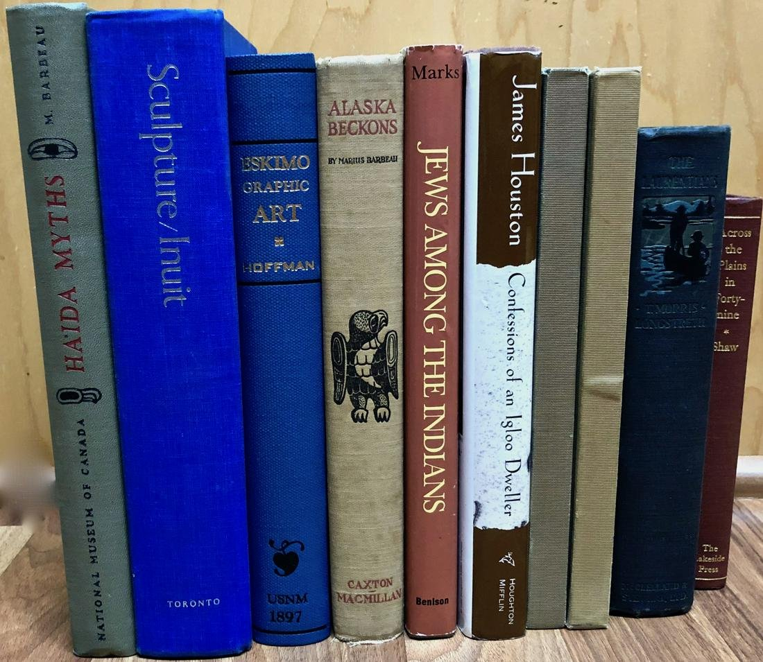 Books 1st Edition ESKIMO ART, INUIT CARVINGS, HAIDA etc
