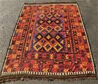 Semi-Antique Hand-Woven Kilim Rug