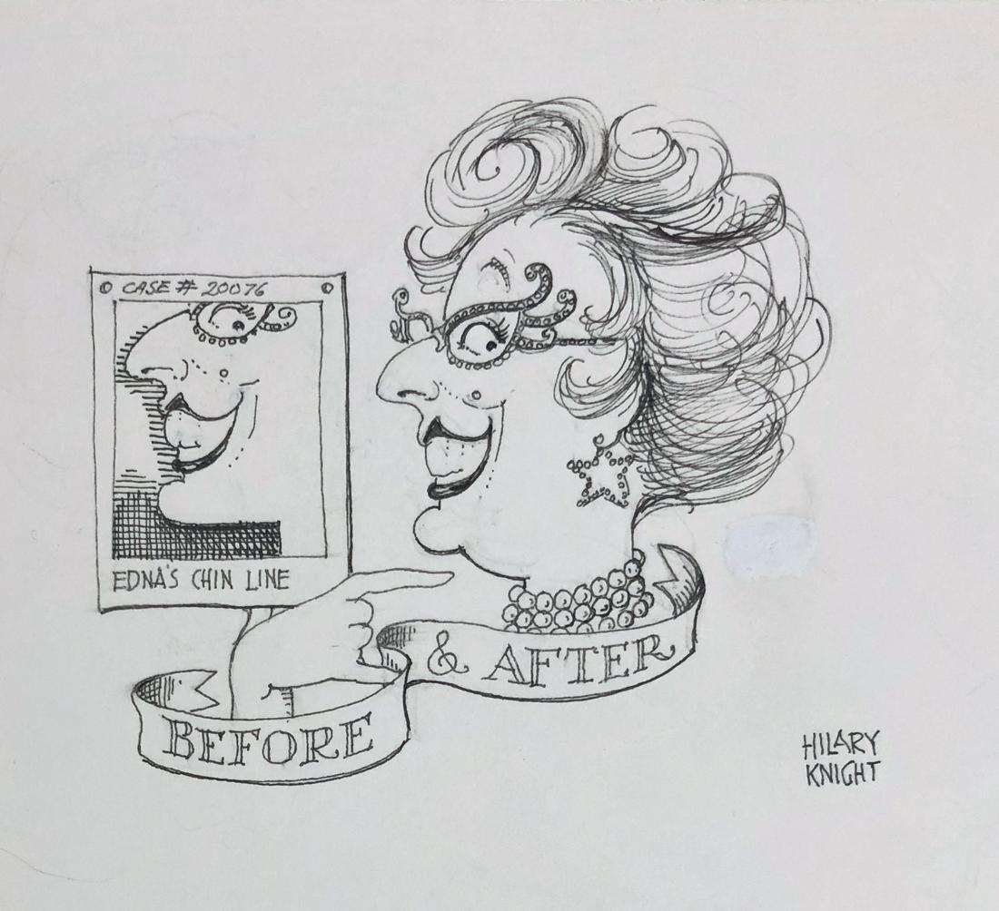 Hilary Knight EDNAS CLOSET Dame Edna For Vanity Fair