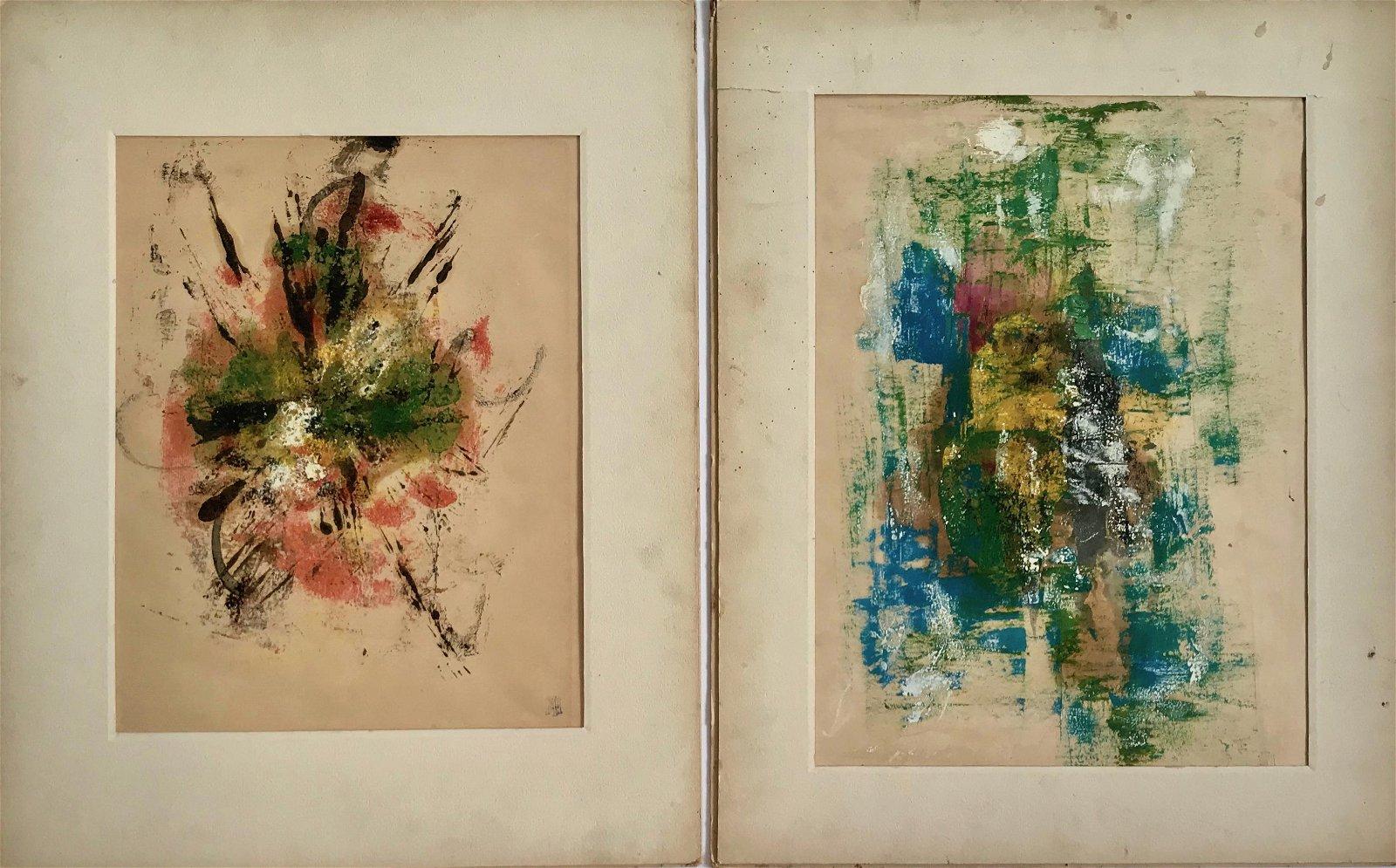 LOBO NOCHO (African-American,1919-1997) Paintings