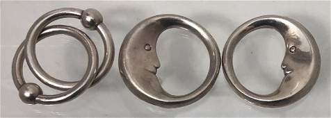 Tiffany & Co Sterling Silver Vintage Baby Rattles