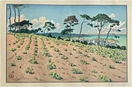 Henri Riviere French18641951 Le Port de Ploumanach